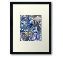 Ancestral corridors to mind expansion Framed Print