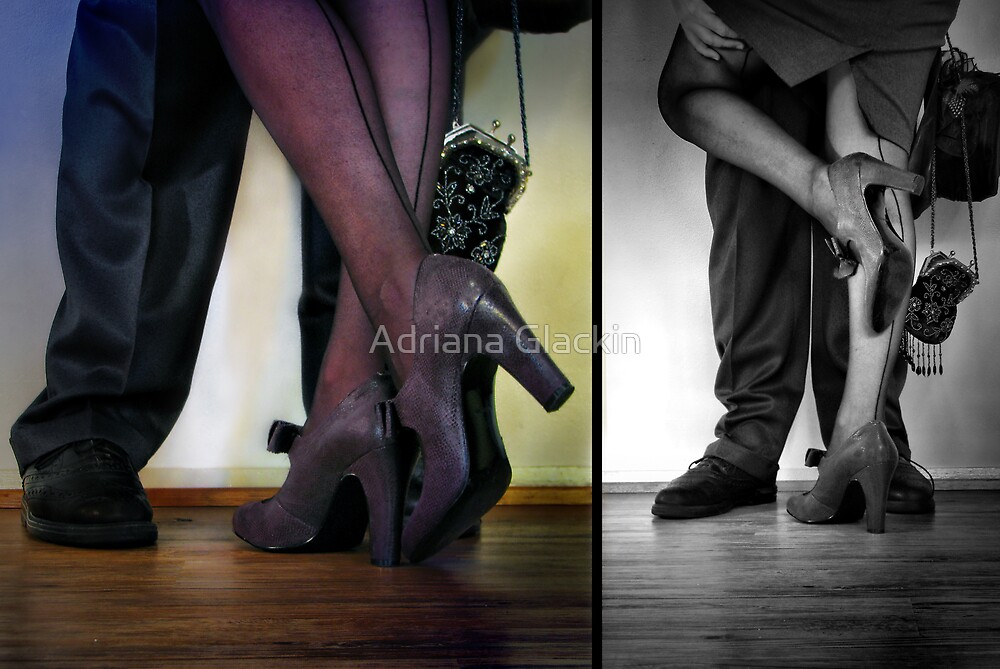 - they met - they danced - they fell in love -  by Adriana Glackin