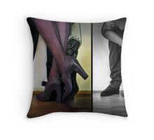 - they met - they danced - they fell in love -  Throw Pillow