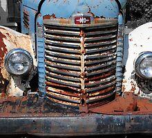 Old International Truck by Rebecca Bryson