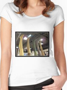 Reaching for the Sky Women's Fitted Scoop T-Shirt