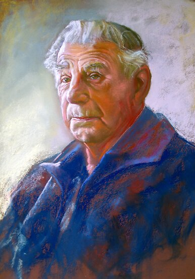 Portrait Art: Portrait of Con Conning by Lynda Robinson