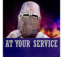 At your service Photographic Print