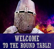 Welcome to the round table by luckypixel