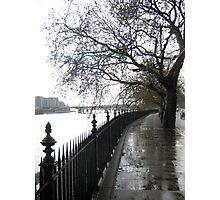 Chelsea Embankment Photographic Print