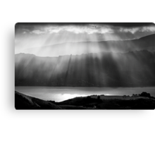 Magic Moments in mono Canvas Print