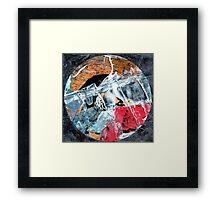 Mandala Rockface, 2014 Framed Print