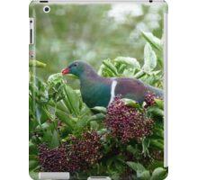 I Prefer The Elder Berries - Wood Pigeon - NZ iPad Case/Skin