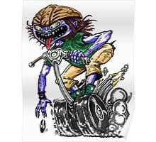 Segway Monster Drag Poster