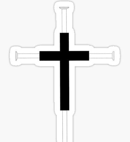 Cross of Nails Sticker