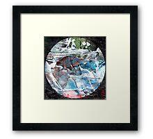 Mandala watersbreak, 2014 Framed Print