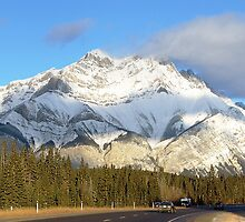 Heading For Banff by George Cousins