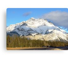 Heading For Banff Canvas Print
