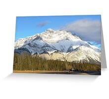 Heading For Banff Greeting Card