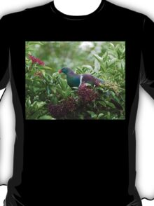 I Prefer The Elder Berries - Wood Pigeon - NZ T-Shirt