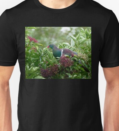 I Prefer The Elder Berries - Wood Pigeon - NZ Unisex T-Shirt