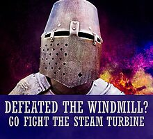 Defeated the windmill? Go fight the steam turbine by luckypixel