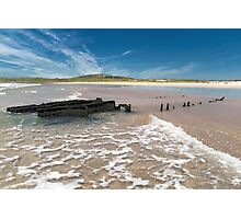Islay: The Wreck Photographic Print