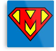 Super M Metal Print