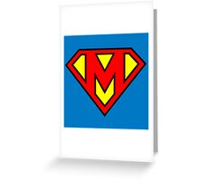 Super M Greeting Card