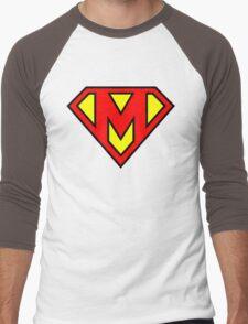 Super M Men's Baseball ¾ T-Shirt