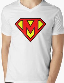 Super M Mens V-Neck T-Shirt