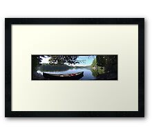 Rest Stop - Taking It All In Framed Print
