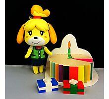 Isabelle Birthday Photographic Print
