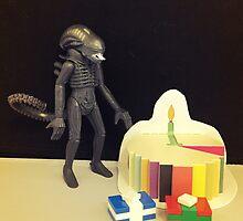 Alien Birthday by FendekNaughton