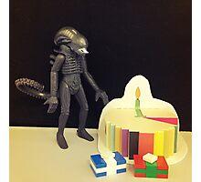 Alien Birthday Photographic Print
