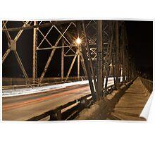 Redwood Bridge Traffic Poster