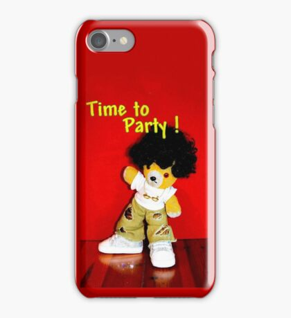 Time to Party iPhone Case/Skin