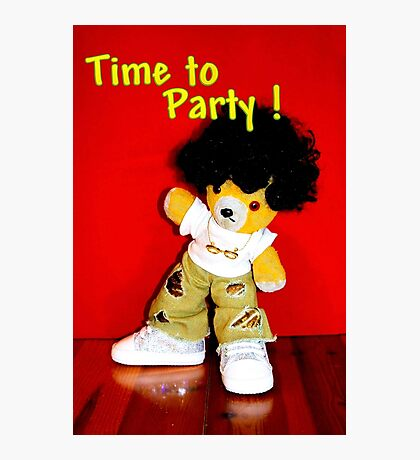Time to Party Photographic Print