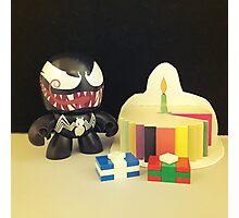 Venom Birthday Photographic Print