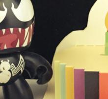 Venom Birthday Sticker