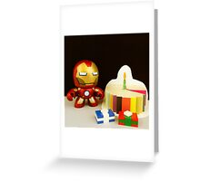 Iron Man Birthday Greeting Card