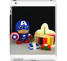 Captain America Birthday iPad Case/Skin