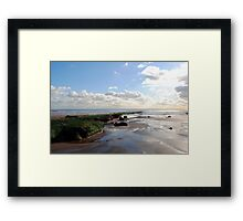 Within the sound of silence Framed Print