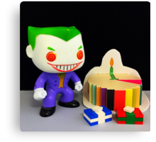 Joker Birthday Canvas Print