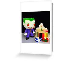Joker Birthday Greeting Card
