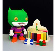 Joker/Batman Birthday Photographic Print