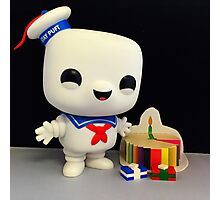 Stay Puft Birthday Photographic Print