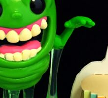 Slimer Birthday Sticker