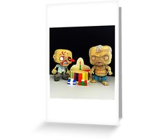 Zombie Birthday Greeting Card