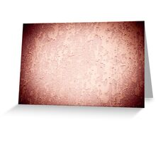 old cracked paint texture wall Greeting Card