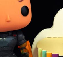 Commander Shepard Birthday Sticker