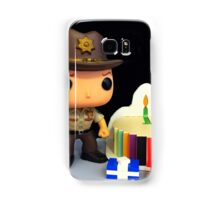 Rick Grimes Birthday Samsung Galaxy Case/Skin
