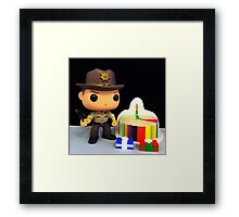 Rick Grimes Birthday Framed Print