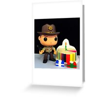 Rick Grimes Birthday Greeting Card
