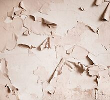 old cracked paint wall texture  by Arletta Cwalina